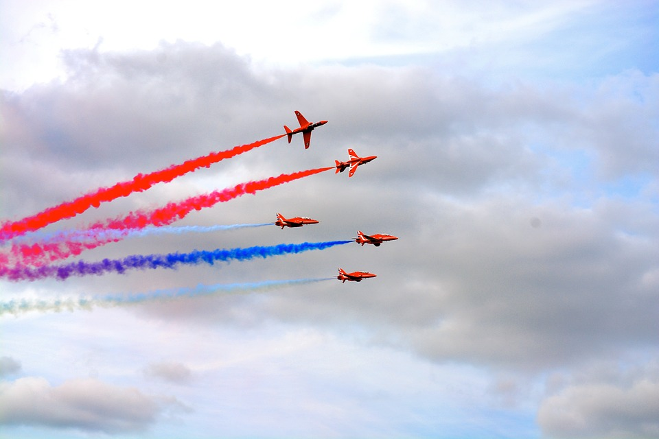 14 Facts about the Red Arrows
